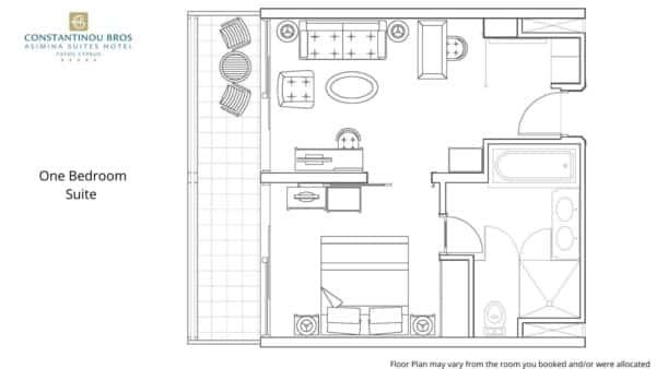 1 One Bedroom Suite