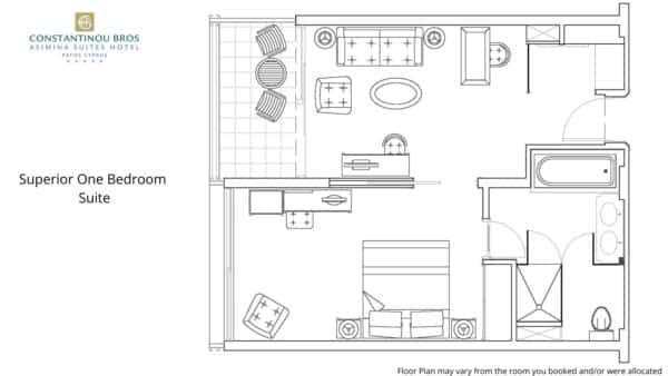 3 Superior One Bedroom Suite