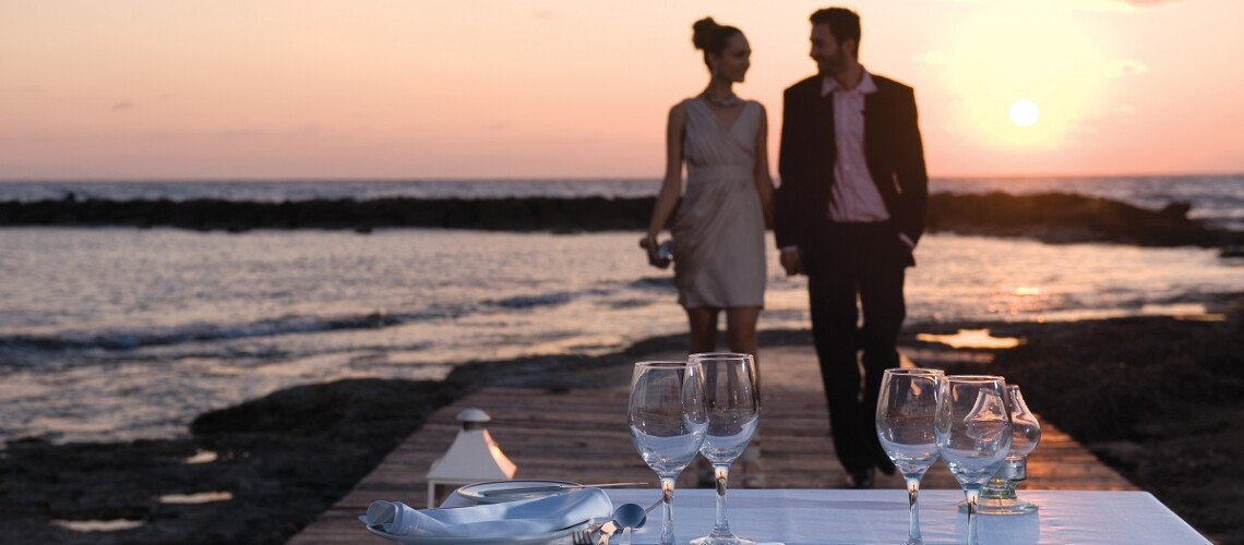 42 ASIMINA SUITES HOTEL PRIVATE DINNER BY THE BEACH