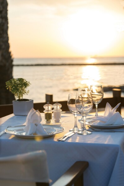 43 ASIMINA SUITES HOTEL PRIVATE DINNER BY THE BEACH