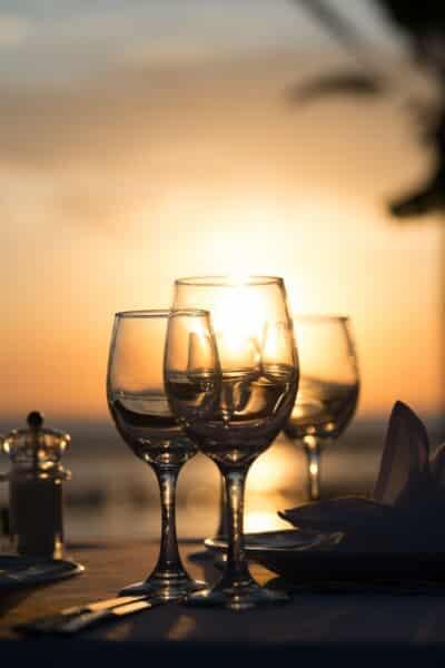 44 ASIMINA SUITES HOTEL SUNSET DINNER